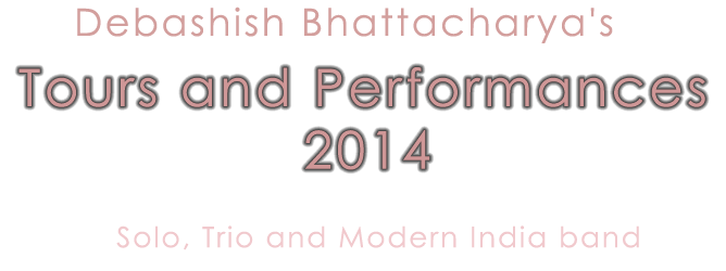 Tours and Performances 2014