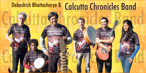 Debashish Bhattacharya & Calcutta Chronicles Band