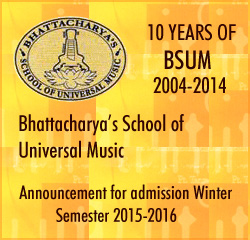 BSUM - Bhattacharya's School of Universal Music