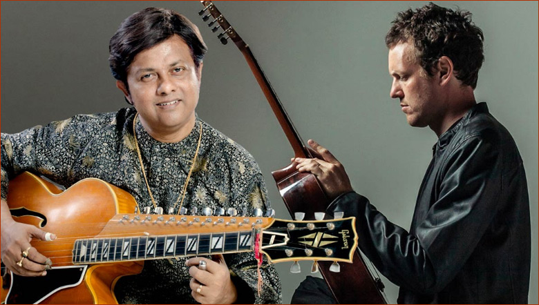 Debashish Bhattacharya and Derek Gripper duet