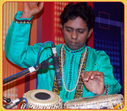 Subhasis Bhattacharjee (tabla)